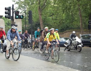 Cycling in traffic