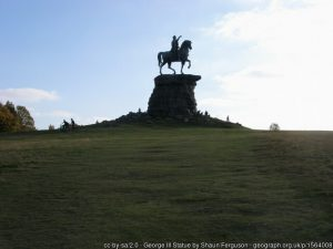 Copper Horse Statue Windsor Great Park